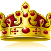 Link toSet of gold color crown vector 05