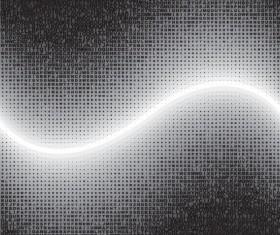 Letter Puzzle vector 04