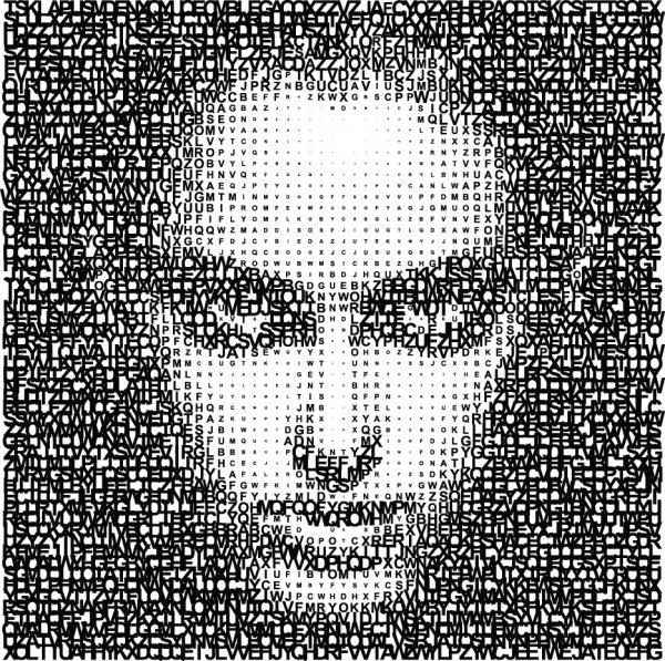 Letter Puzzle vector 05
