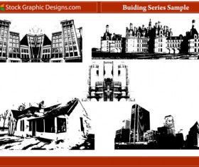 building series Silhouettes + Photoshop Brush