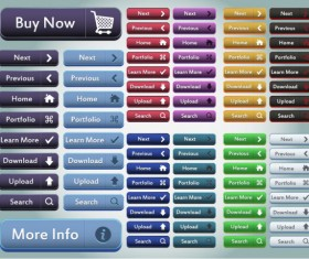 Button Collection 02 (buy ,Download ,Upload ,Search Button ….)