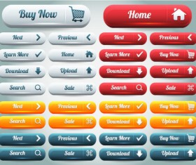 Button Collection 03 (buy ,Download ,Upload ,Search Button ….)