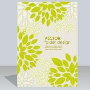 Link toFolder design vector floral background 07
