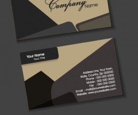 Exquisite Business cards design elements vector 01