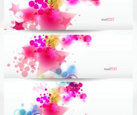 Abstract Stylish vector banner 04
