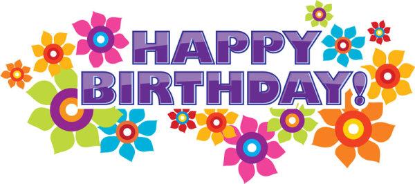 Happy Birthday design elements free vector 04 - Vector Birthday ...