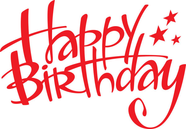 happy birthday design elements free vector 05 free download