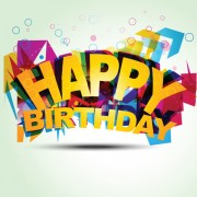 Link toHappy birthday design elements free vector 07
