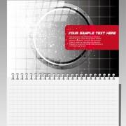 Link toNotepad design elements vector 01