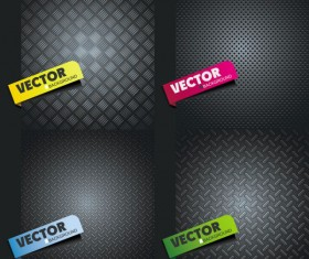 Metal Board vector background