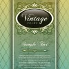 Vintage Cover the background free vector 02