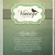 Link toVintage cover the background free vector 03