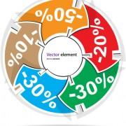 Link toElements of creative discount label stickers vector 05