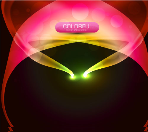 Set of Abstract light vectot background 01