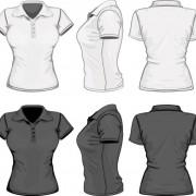 Link toDesign set of shirts vector template 02