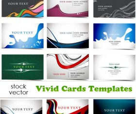 Elements of Vivid Cards Templates