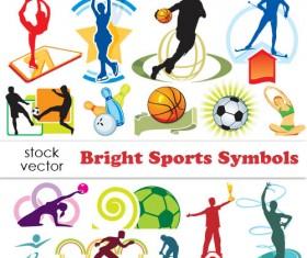 Set of Sports Symbols vector