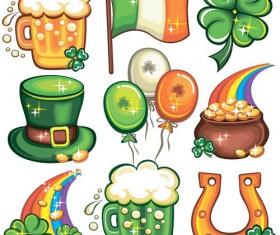 Cartoon Festival icons vector 01