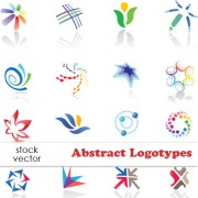 Creative logotypes design elements vector