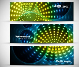 Abstract Colorful design elements banner vector 01