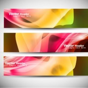 Link toAbstract colorful design elements banner vector 02