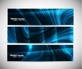 Abstract Colorful design elements banner vector 04