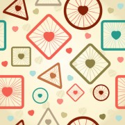 Link toCute cartoon decorative pattern background vector 03