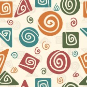 Link toCute cartoon decorative pattern background vector 04