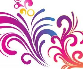 Colorful Swirls Background