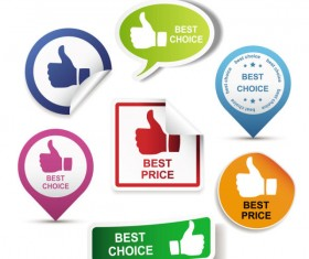best Creative Label free vector part-3