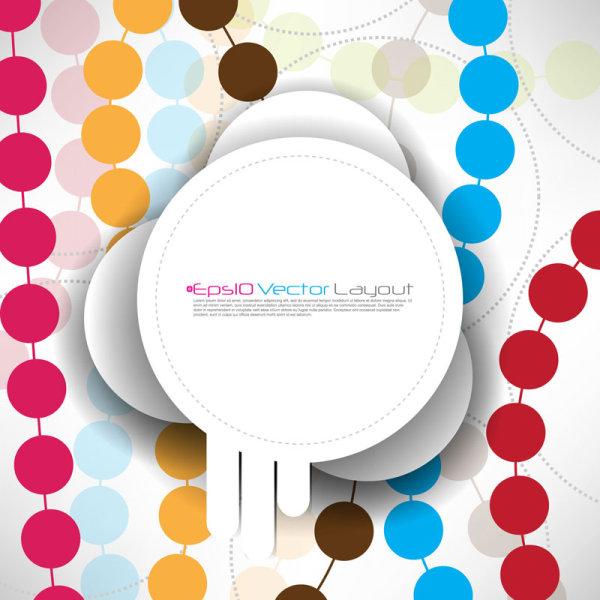 Stylish Creative vector Label 03