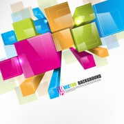 Link toCreative colorful cube vector background