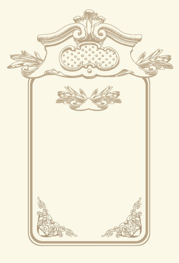 vintage cards borders vector 01 free download