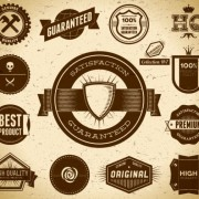Link toFree vector vintage label set 01