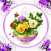 Link toFree vector beautiful roses 03