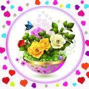 Link toFree vector beautiful roses 05