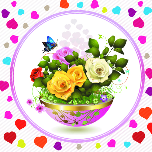 Beautiful Rose Pics Free Download Free Vector Beautiful Roses 05