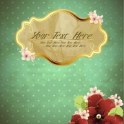 Link toFree exquisite romantic cards vector 02