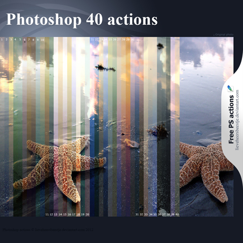 photoshop 40 actions