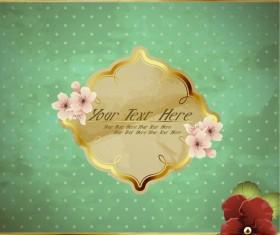 free Exquisite romantic cards vector 05
