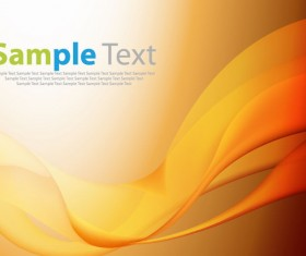 Abstract Smooth Curves  Background free Vector