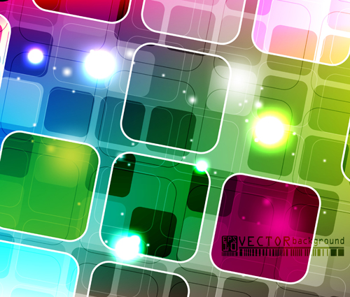 Abstract colourful Stylish vector background 02