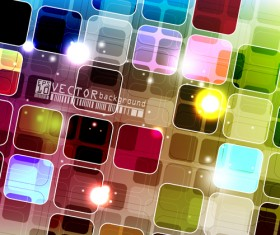 Abstract colourful Stylish vector background 01