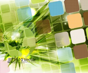 Abstract colourful Stylish vector background 05