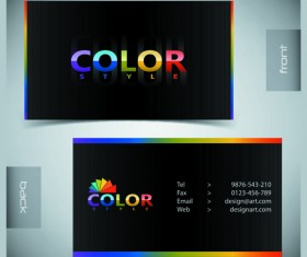 Creative Business Cards Vector background 01