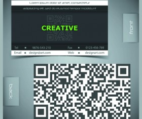 Creative Business Cards Vector background 04