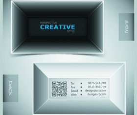 Creative Business Cards Vector background 05