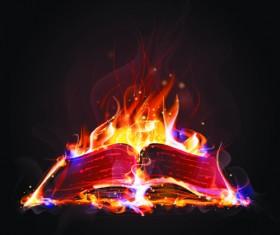 Elements of Fiery Objects vector 01