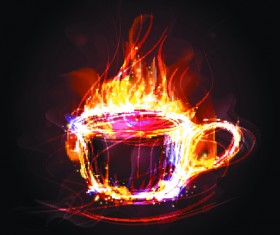 Elements of Fiery Objects vector 05