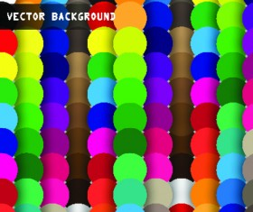 Set of abstract Mosaic vector backgrounds 02